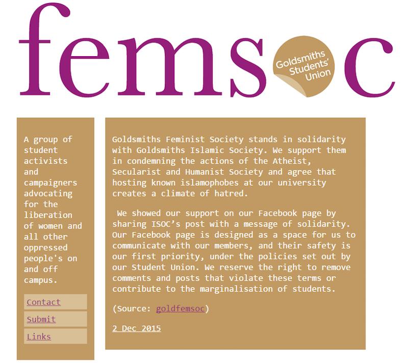 goldsmiths femsoc