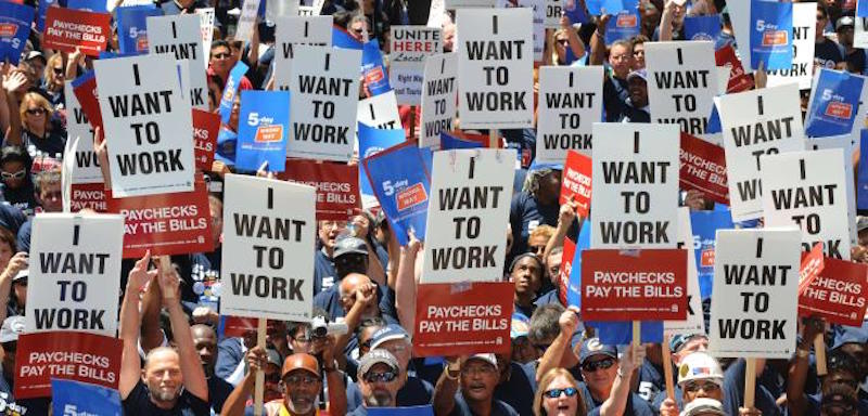 la jobs protest