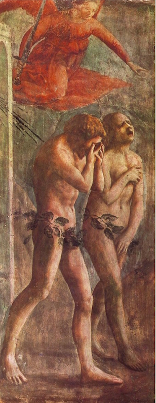 MasaccioThe Expulsion Of Adam And Eve From Eden covered