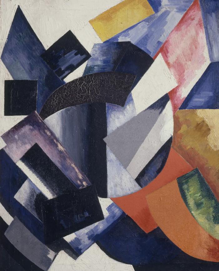 Alexandra Exter Non-Objectiive Composition 1917