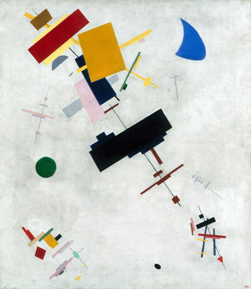 Kazimir Malevich Suprematism 1916