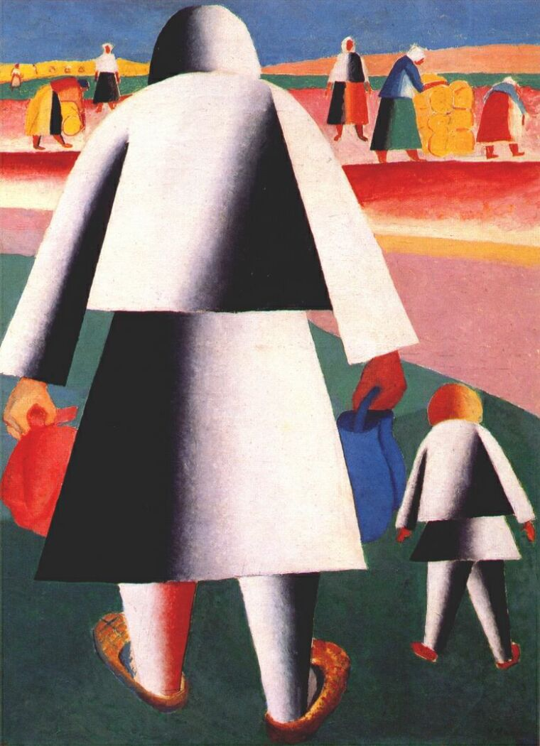 Kazinir Malevich To the Harvest 1928-29