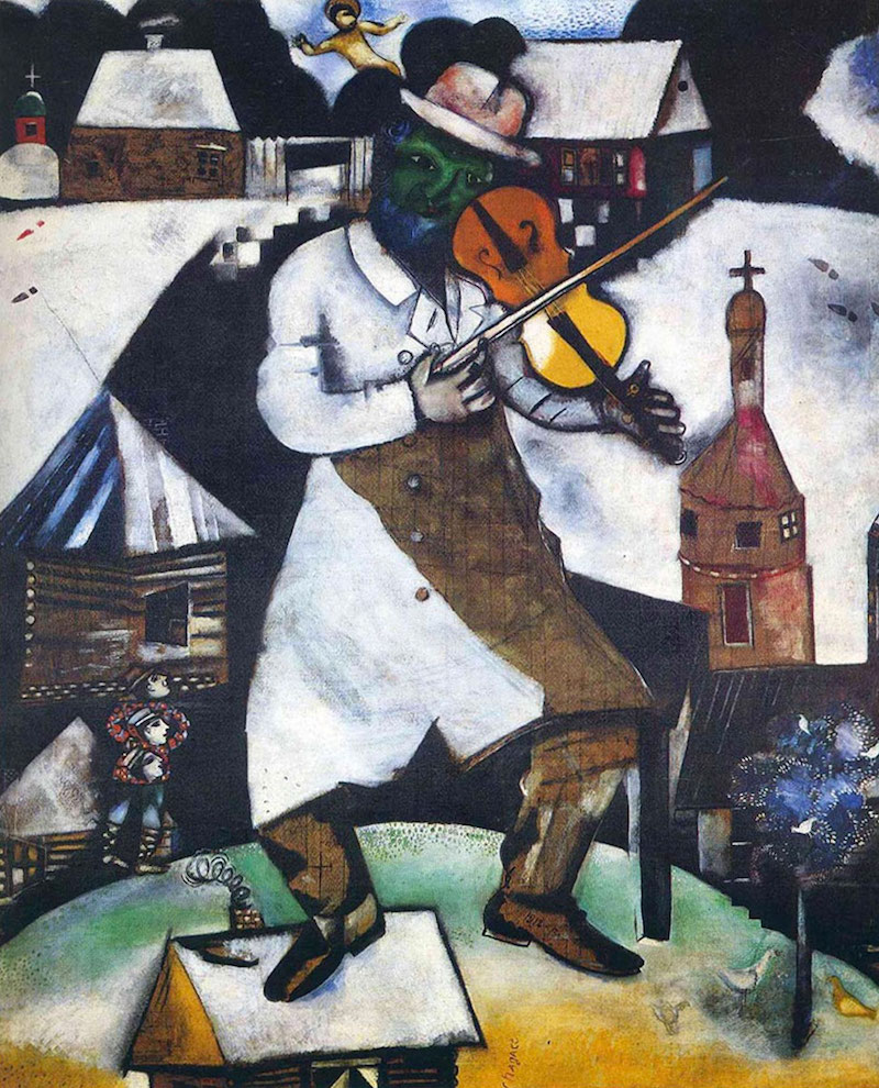 Marc Chagall The Fiddler 1913