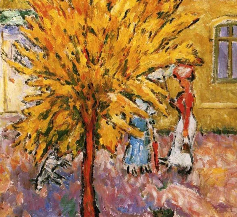 Mikhail Larionov The Tree 1910