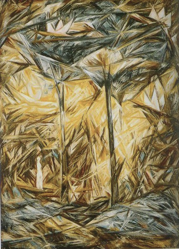 Natalia Goncharova The Forest 1914
