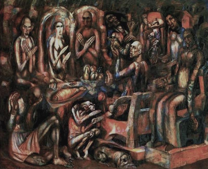 Pavel Filonov Feast of Kings