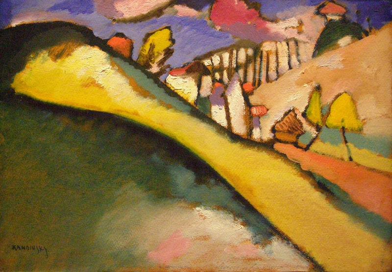 Vasily Kandinsky Study for a Landscape 1910