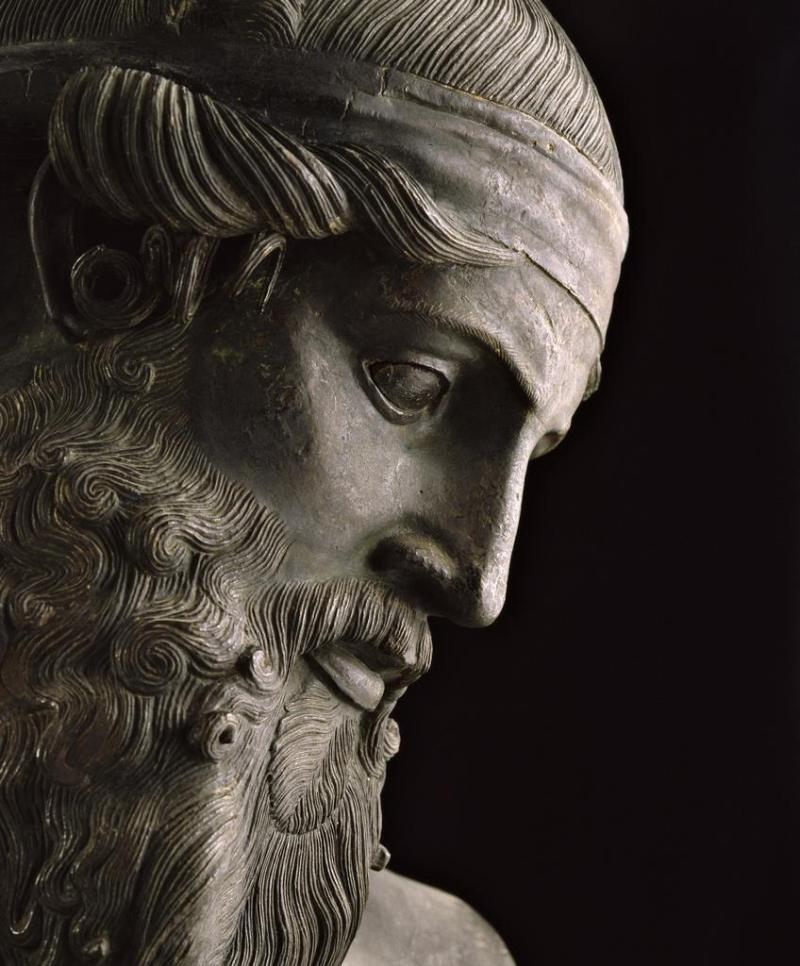 Bust of Plato, Naples