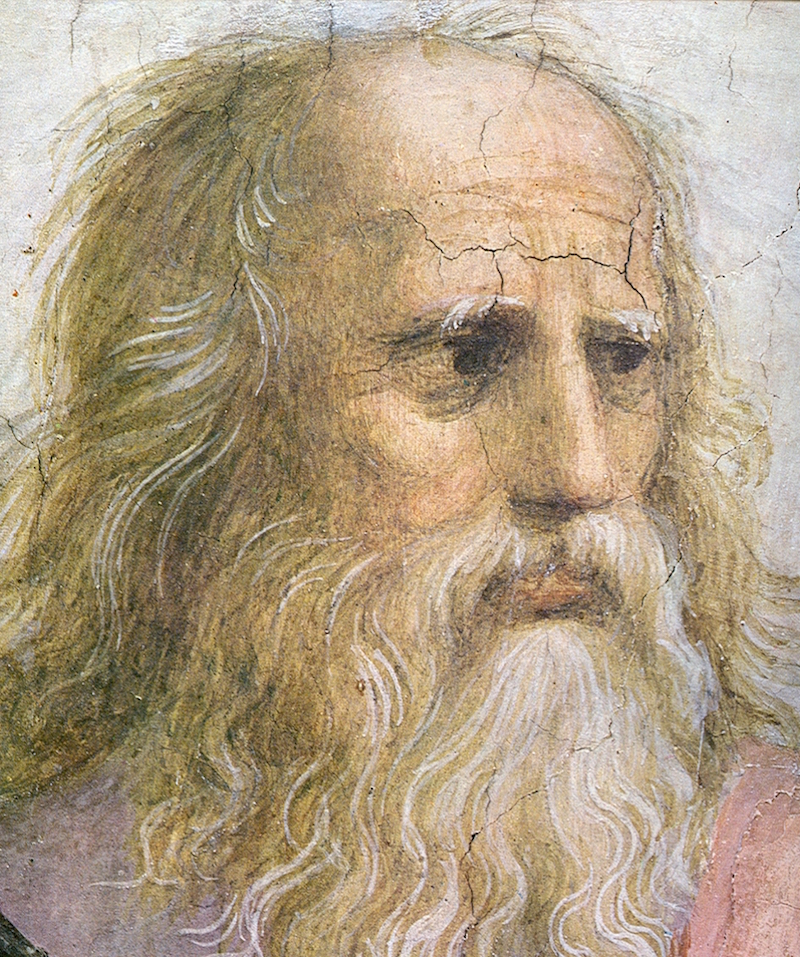 Plato from Raphael's School of Athens