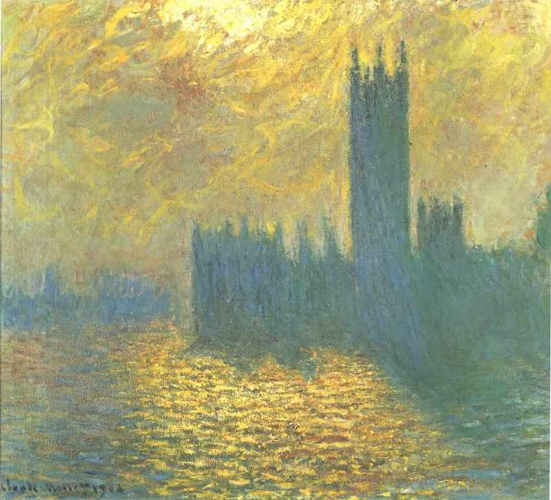 Monet Houses of Parliament