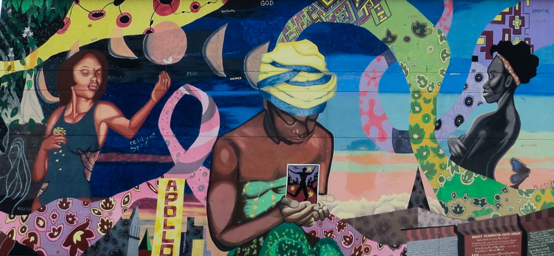 harlem women's community health mural