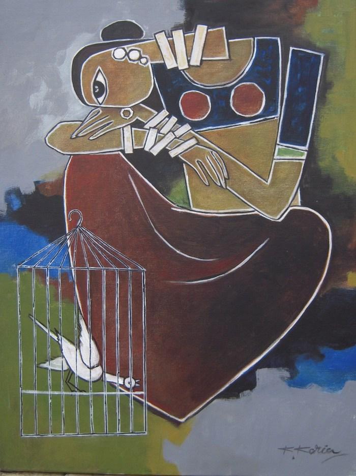 Kamal Koria Caged Bird