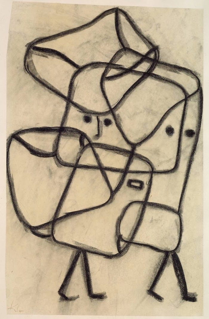 Paul Klee Burdened Child