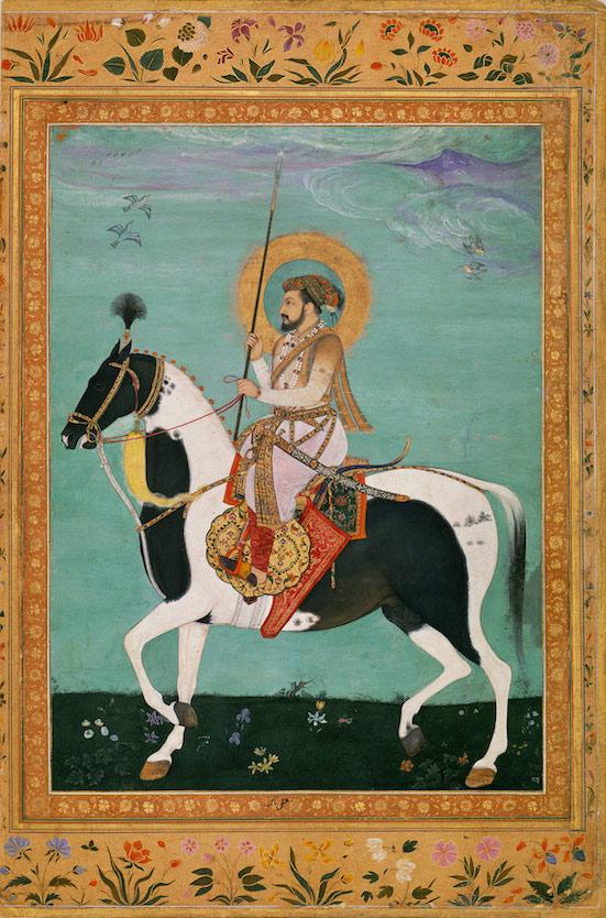 Shah Jahan on Horseback C17