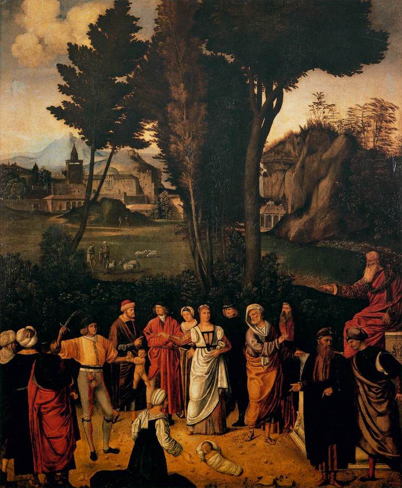 Giorgione Judgement of Solomon