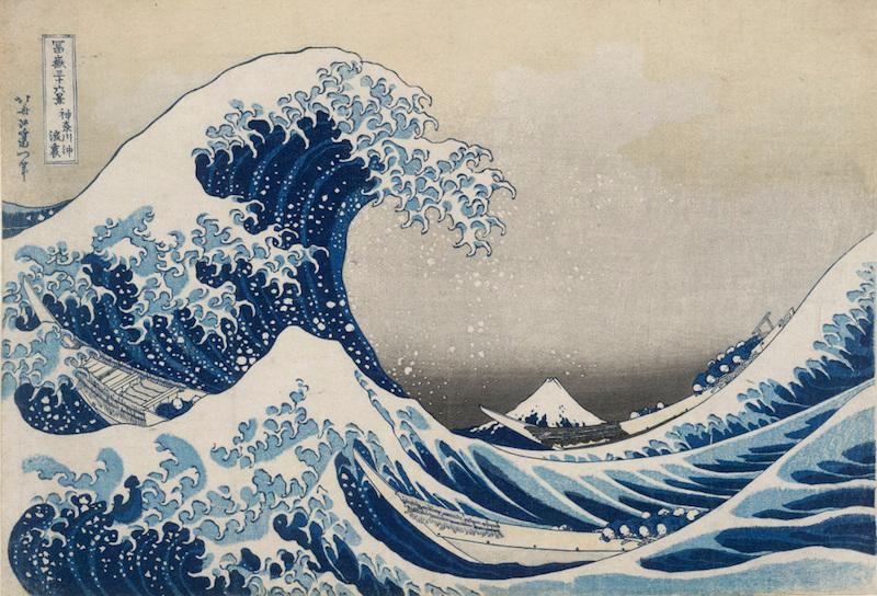 Hokusai The Wave