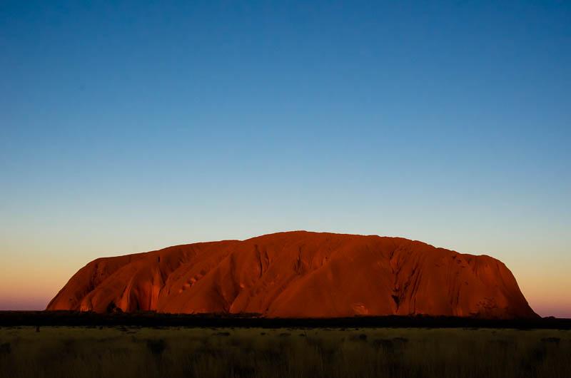 Uluru sunset 1