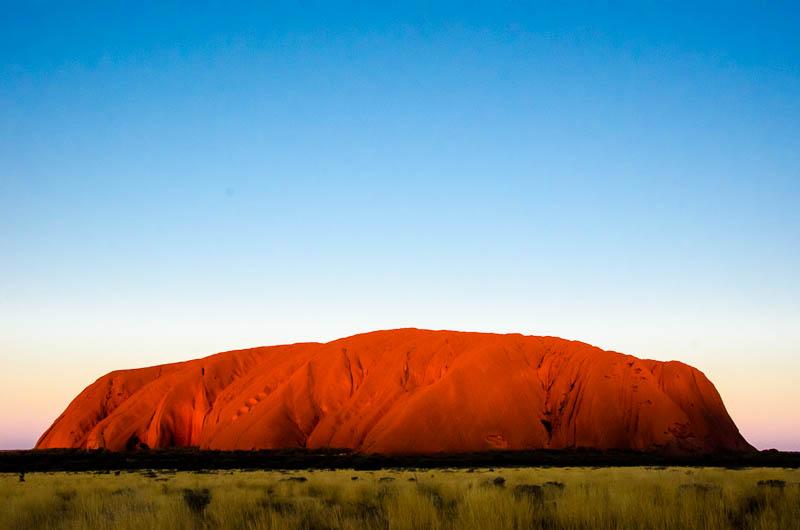 Uluru sunset 2