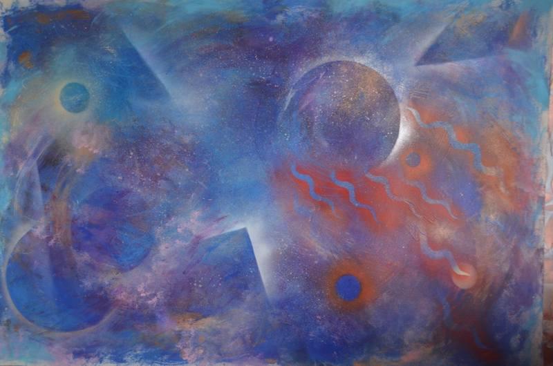 Natasha Von Blue Cosmos