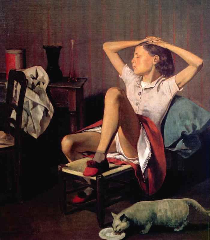 Balthus Thérèse dreaming