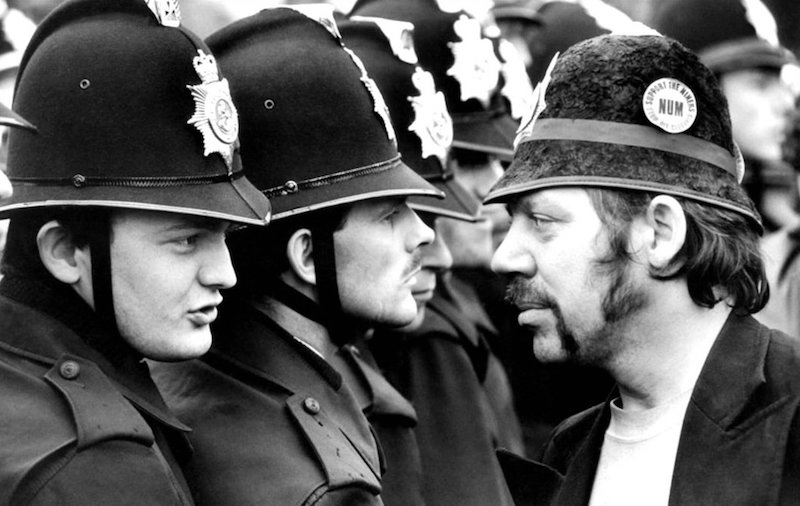 Don McPhee Battle of Orgreave