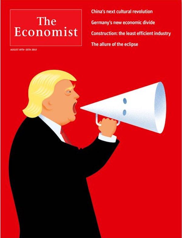 Economist Trump KKK cover