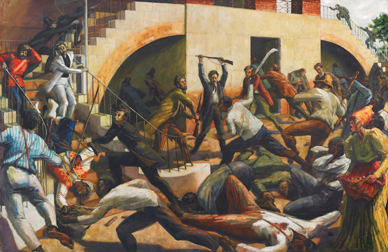 Barrington Watson The Morant Bay Rebellion