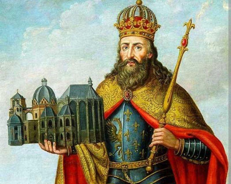 Caspar Johann Nepomuk Scheuren Charlemagne