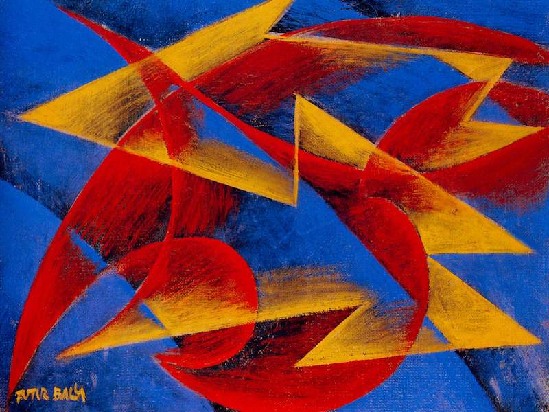 Giacomo Balla Line of speed