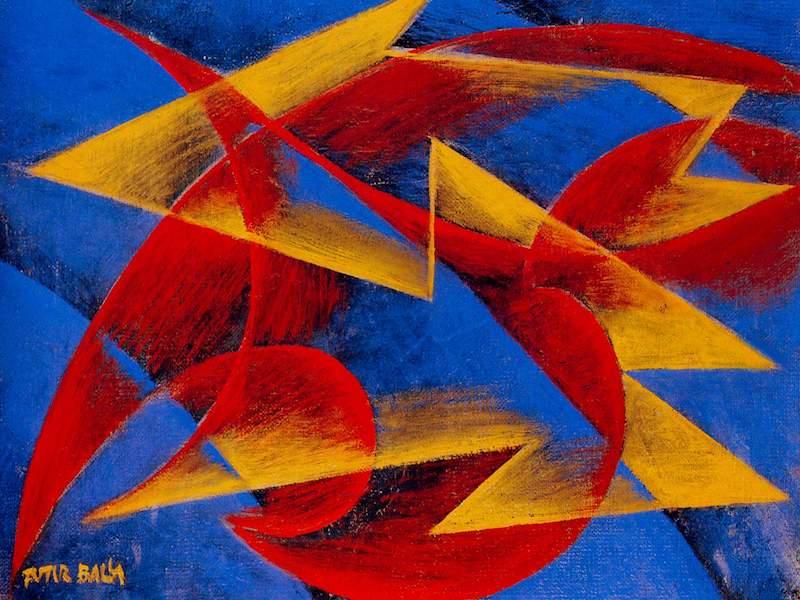 Giacomo Balla Line of speed