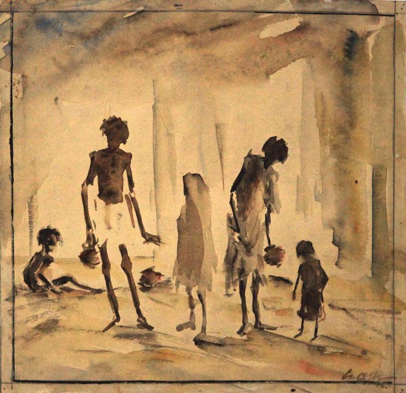 Gobardhan Ash Bengal famine