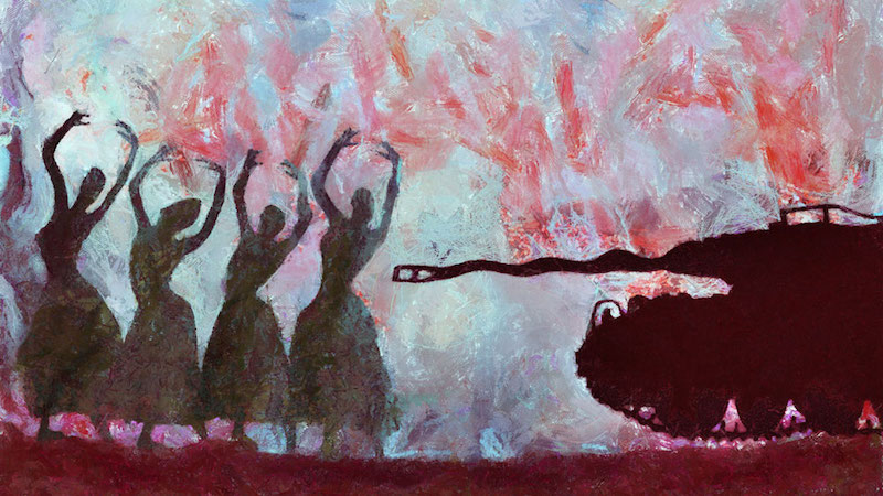 Wissam al Jazairy Dancers and the dictator