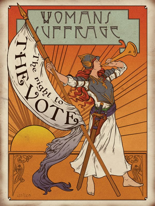 Suffragettes poster