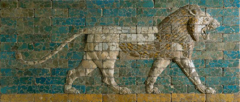 Babylonian Lion panel