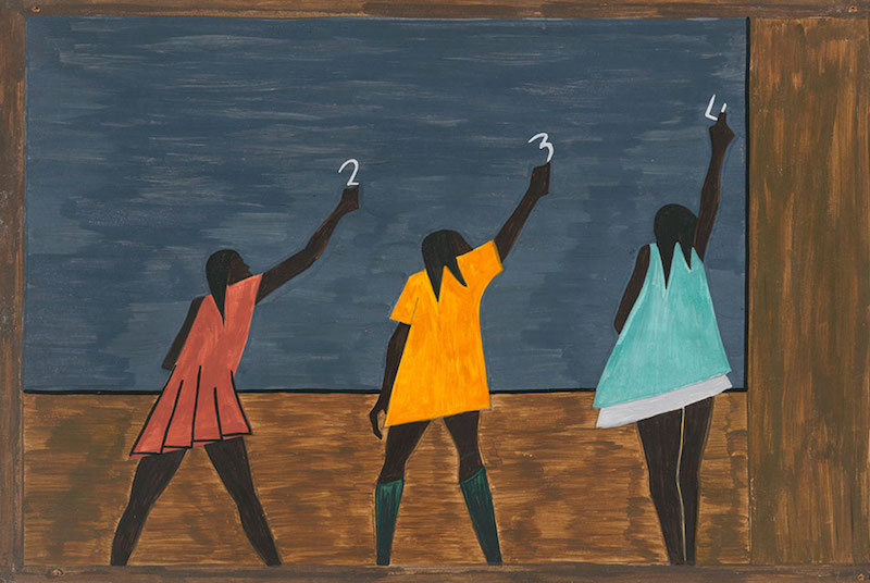Jacob Lawrence Education