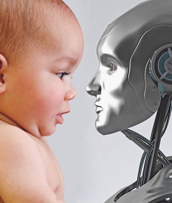 baby & robot