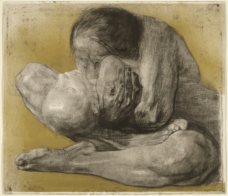 Käthe Kollwitz Woman with Dead Child