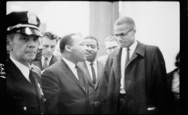 malcom x and martin luther king jr essay Martin luther king vs malcolm x in history, everyone knows that no two great men are alikeand when you compare martin luther king and malcolm x, you will know instantly that such is true.