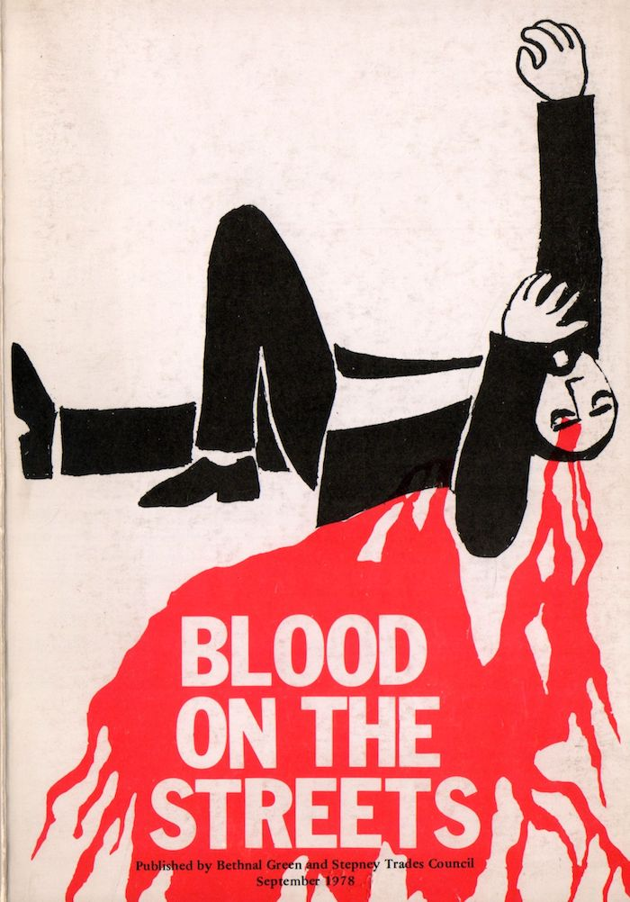 Blood on the Streets pamphlet