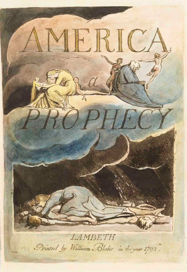Blake America A Prophecy