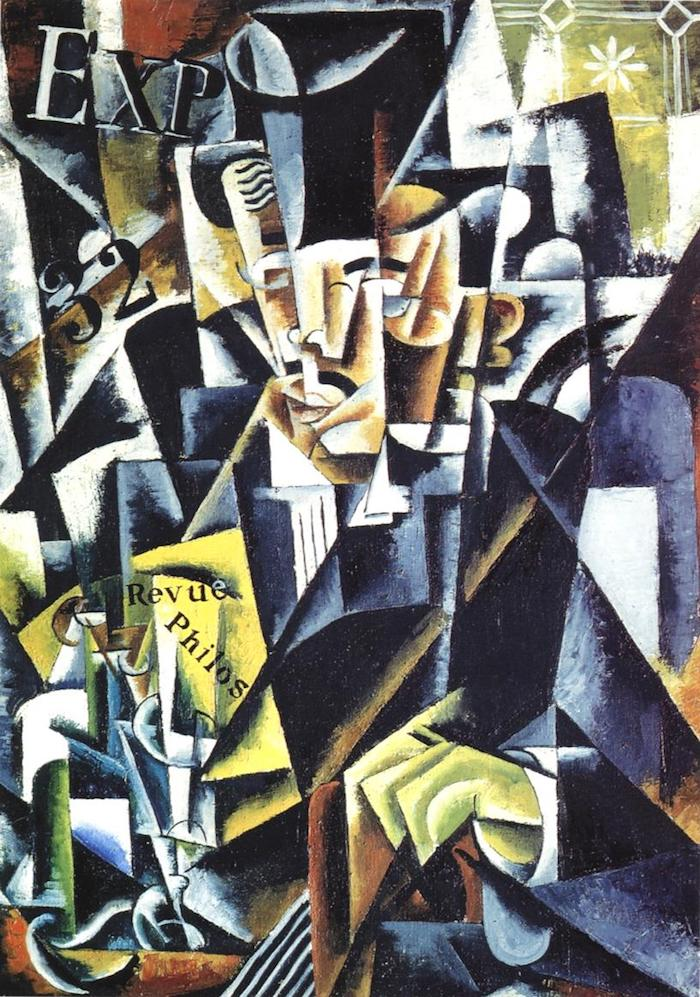 Lyubov Popova Portrait of a philosopher