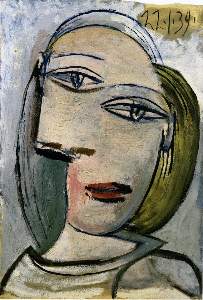 Picasso Portrait de femme