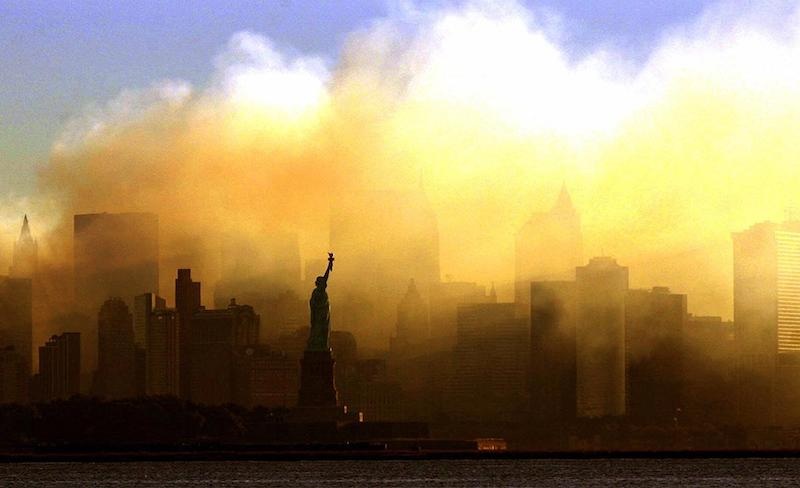 View from Jersey City, Dan Loh:AP (taken on 15 September)