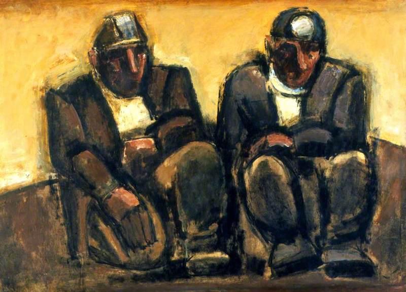 Herman, Josef, 1911-2000; Miners