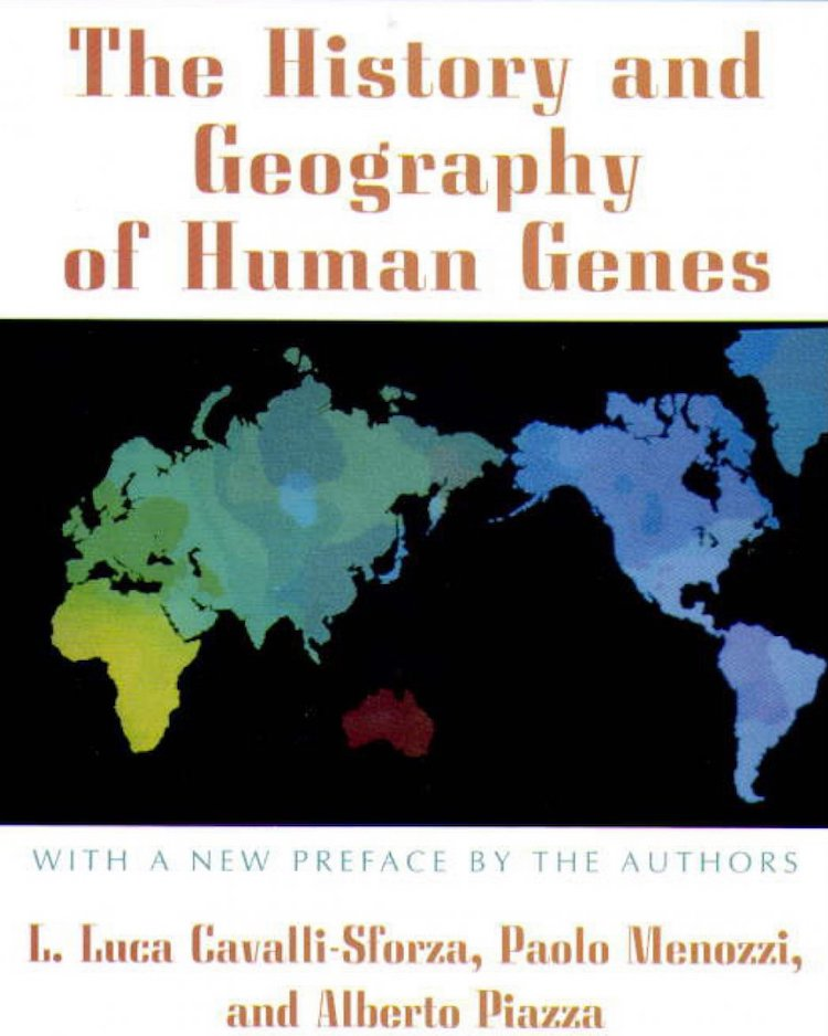 Cavalli Sforza History of Geography of Human Genes