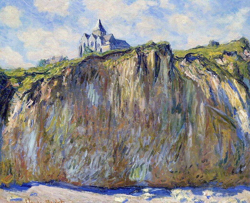 Monet, The church at Varengeville
