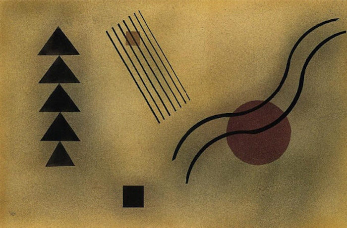 Wassily Kandinsky Moderate Connection