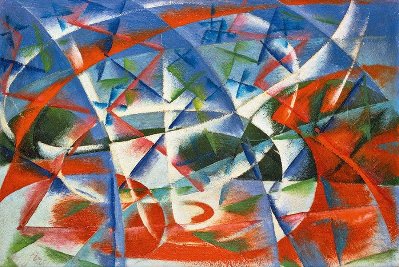 Giacomo Balla, Abstract Speed