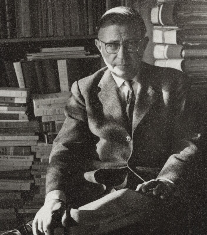 Jean-Paul Sartre by Ida Kar, National Portrait Gallery, London