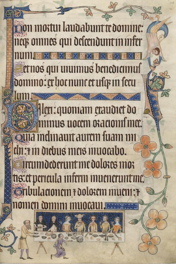 luttrell psalter, 14th century, british library